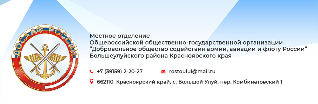 Общероссийская общественно-государственная организация «Добровольное общество содействия армии, авиации и флоту России»